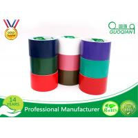 Wholesale Cotton Yarn Reinforced Self Adhesive Cloth Duct Tape Pink / Orange from china suppliers