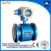 Wholesale low cost magnetic flow meter water price for sea water flow metering from china suppliers