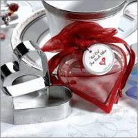"Wholesale ""Cut Out for Each Other"" Heart Cookie Cutters from china suppliers"