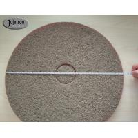 Wholesale 17 Inch Sponge Fiber Diamond Polishing Pads for Marble / Concrete Floor #400 #800 from china suppliers