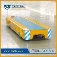 Wholesale 5 tons low valtage rail powered  trolley trailer as transporter used in factory from china suppliers