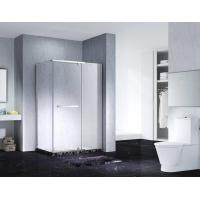 Wholesale Neo-Angle Hinged Semi Frameless Diamond Shape Shower Enclosure With Pivot Door, AB 3231 from china suppliers