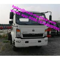 Wholesale HOWO Light Duty Commercial Trucks 3 Ton / 4 Ton / 5 Ton 4x2 Mini Truck Small Dump Truck from china suppliers