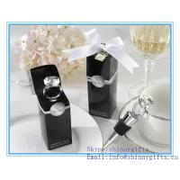 Wholesale DIAMOND RING WINE BOTTLE STOPPERS from china suppliers