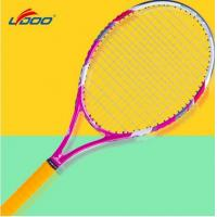 Wholesale 685mm, 50-58lbs, super racket face extends sweet shot zone, full carbon tennis Racket from china suppliers