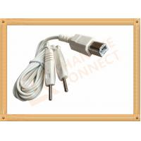 Wholesale Square Plug Tens Unit Cables To 2 Pin Y Type Medial Tens EMS Heating Cable for monitor from china suppliers