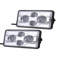 Wholesale Waterproof  IP66 4 Pieces OSRAM Square LED Headlight 5500K ~ 6000K from china suppliers