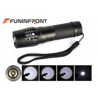 Wholesale CREE XM-L T6 Zoomable LED Flashlight Torch with 3 Mode Adjustable Brightness from china suppliers