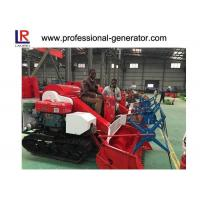 Wholesale Mini Rice Harvesting Machines , Small Grain Combine Harvester with Electric starting from china suppliers