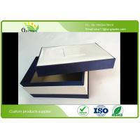 Wholesale Eco Friendly Rectangle Paper Custom Matt Lamination Cardboard Gift Boxes with Lid from china suppliers
