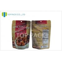 Wholesale Custom Aluminum Foil Stand Up Pouch Packaging For Nuts / Snack / Food from china suppliers