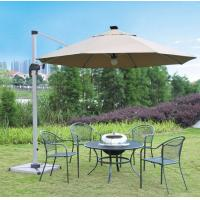 Wholesale Aluminum 150cm Double Patio Umbrella Outside Backyard Automatic Remote Control Parasol from china suppliers