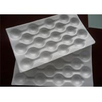 Wholesale White Fruit Packaging Trays Stacked Packing Disposable Divided Blister Apple Tray from china suppliers