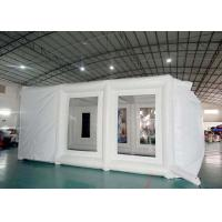 Wholesale Inflatable spray booth mobile inflatable paint tent for car repair from china suppliers