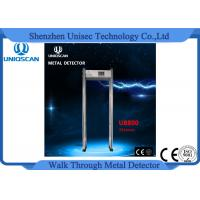 Wholesale CE/ISO guaranteed 33 zones high sensitivity walk through metal detector from china suppliers