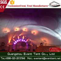 Wholesale Transparent Geodesic Dome Tent Outdoor Event Tent For Over 1000 People from china suppliers