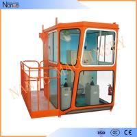 Wholesale Red 1.1m / 1.4m Width Overhead Crane Cabin For Operator Cab from china suppliers