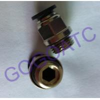 "Wholesale Pneumatic 6mm Thread 1/4"" Quick Connect Connector , Air Straight Hose Fitting Quick Connector Coupling from china suppliers"