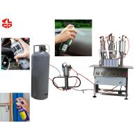 Wholesale Semi Automatic Aerosol Filling Machine for Carburetor Cleaning Agent Can from china suppliers