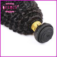 Quality 8A 100% Unprocessed Virgin Remy Kinky Curl Brazilian Human Hair weave for sale