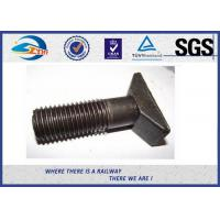 Wholesale Durable T Head Short Rod Railway Bolt Plain Surface Custom Made from china suppliers