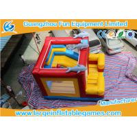 Wholesale Customized Inflatable Bouncy Castle , Inflatable Jumping With Plato PVC Tarpanlin from china suppliers
