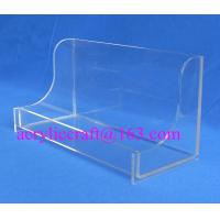Wholesale Hotel Supplies Acrylic Towel Holder, Plexiglass Washcloth Rack, Lucite Napkin Display from china suppliers