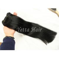 Wholesale Elegant  Straight Remy Hair Weave , Real Virgin Brazilian Hair No Foul Odor from china suppliers