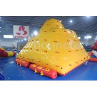 Wholesale Water Park Floating Water Iceberg For Climbing And Sliding from china suppliers