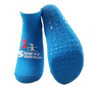 China Super Jump Trampoline Park Safety Non Slip Grip Socks Colorful Knitting Trampoline Socks for sale