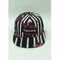 Wholesale Rose Striped Unique Baseball Hats Stylish Baseball Caps 100% Cotton from china suppliers