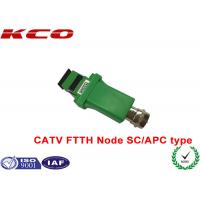 Wholesale SC / APC to RF Analog signal 1550nm Fiber Optic Adapter CATV FTTH receiver optical node from china suppliers