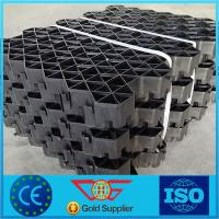 Wholesale Plastic Grass Lawn Gravel Grid Paver Slope Protection Geocell Good Weather Resistant from china suppliers
