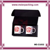 Buy cheap Black Mug Gift Box/Corrugated Mug Box Packaging ME-CU032 from wholesalers