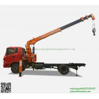 Buy cheap Custermizing 10 ton at 2m truck mounted crane SQ10S4 high quality 250 Kn.m telescopic boom truck WhatsApp:8615271357675 from wholesalers