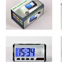 Wholesale digital table clock camera 720P mini and hidden from china suppliers