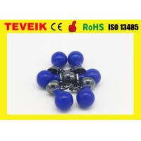 Wholesale Pediatric Suction Cup Electrode Blue Ball Nickel Plated Silicone Material For DIN 3.0 from china suppliers