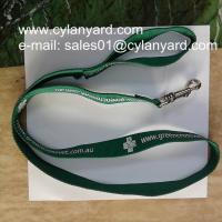 Wholesale Printed polyester webbing dog leads, polyester lanyard dog leashes, from china suppliers