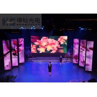 Wholesale Custom P5 Digital Mobile Stage LED Screen Rental CE MW Power Supply 640X640mm from china suppliers