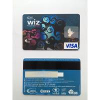 Wholesale Bank's visa smart card with hico - magstripe and standard hologram from china suppliers