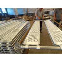 Wholesale Pregalvanized aluminum scaffold planks boards for Ringlock Scaffolding from china suppliers