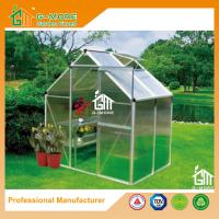 Wholesale 133 x195x185cm Silver Color Economic Popular Series Aluminum Greenhouse from china suppliers