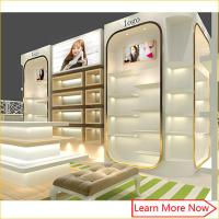 Wholesale Modern high end fashion shoe store display case/shoe wall display from china suppliers
