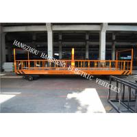 Wholesale Fixed Flatbed Multi Purpose Trailer Yellow 10 Tons Load  For Workshop PT-10 from china suppliers