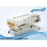 Wholesale Anti-Rust Intensive Care Beds , Semi Automatic Medical Bed With Castors from china suppliers