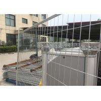 Wholesale Silver Color Temporary Residential Fencing / Chain Link Construction Fence from china suppliers