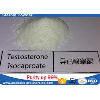 Wholesale Pure Testosterone Steroid Testosterone Isocaproate Powder 15262-86-9 No Side Effect from china suppliers