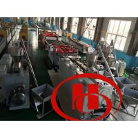 Wholesale fine surface , high intensity ,thicker ,solid wood and plastic composite door board machine , door board machine from china suppliers