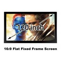 Wholesale Home Theatre 3D Projection Screen , Flat Projection Screen Elegant Appearance from china suppliers