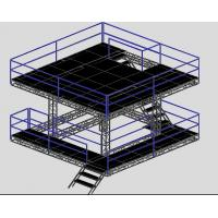 Wholesale Speaker Professional Aluminium Stage Truss / Portable Stage Platforms from china suppliers